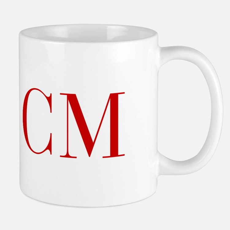 CM-bod red2 Mugs
