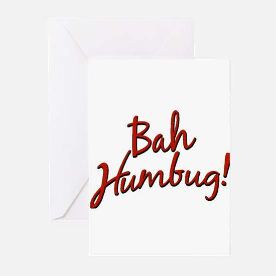 Bah, Humbug Greeting Cards (Pk of 10)