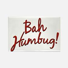 Bah, Humbug Rectangle Magnet