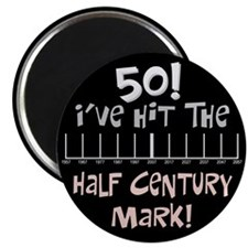 50th birthday graph Magnet