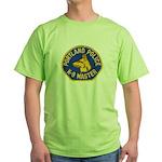 Portland Police Canine Green T-Shirt