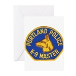 Portland Police Canine Greeting Cards (Package of