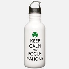 Keep Calm and Pogue Ma Water Bottle
