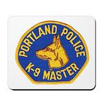 Portland Police Canine Mousepad