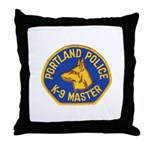 Portland Police Canine Throw Pillow