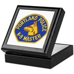 Portland Police Canine Keepsake Box