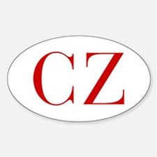 CZ-bod red2 Decal