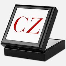 CZ-bod red2 Keepsake Box
