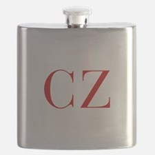 CZ-bod red2 Flask