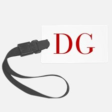 DG-bod red2 Luggage Tag