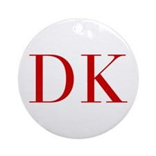 DK-bod red2 Ornament (Round)
