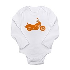 Unique Motor Long Sleeve Infant Bodysuit