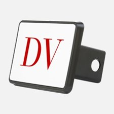 DV-bod red2 Hitch Cover
