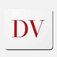 DV-bod red2 Mousepad