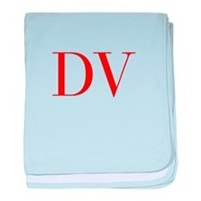 DV-bod red2 baby blanket