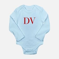 DV-bod red2 Body Suit