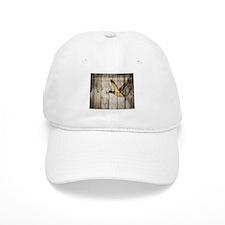 barnwood wild duck western country Baseball Cap