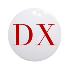 DX-bod red2 Ornament (Round)