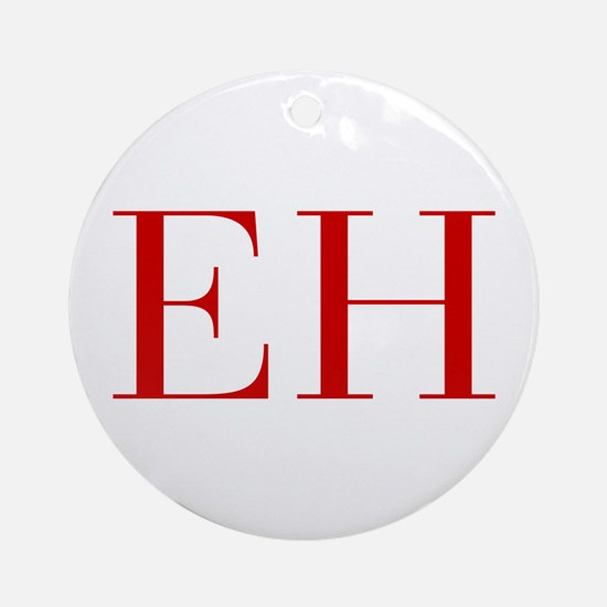 EH-bod red2 Ornament (Round)