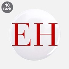 """EH-bod red2 3.5"""" Button (10 pack)"""