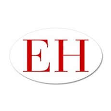 EH-bod red2 Wall Decal