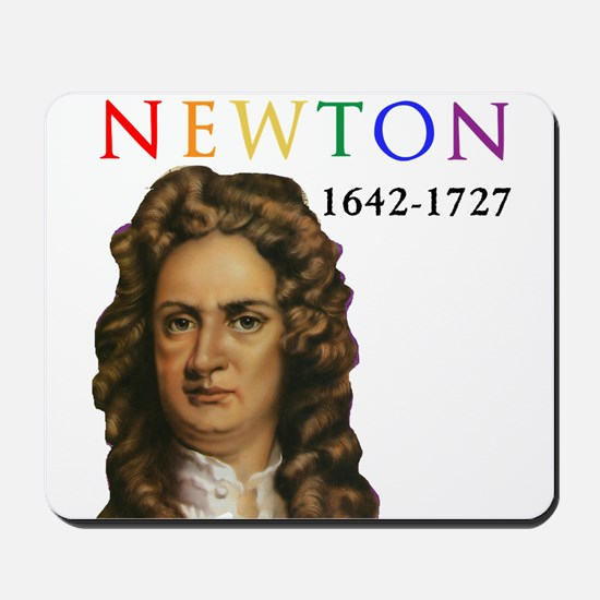 Sir Isaac Newton: Father of Modern Scien Mousepad
