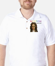 Sir Isaac Newton: Father of Modern Scie T-Shirt