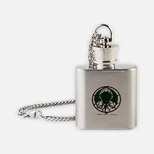 Cthulhu Flask Necklace