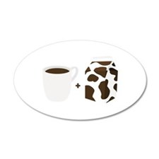 Coffee & Milk Wall Decal