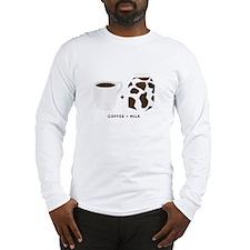 Coffee + Milk Long Sleeve T-Shirt