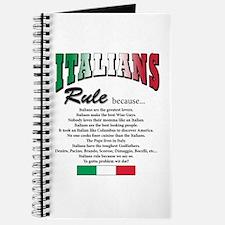 Italians Rules Journal
