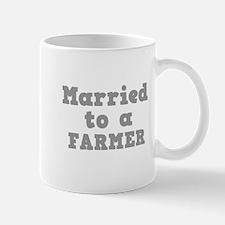 Married to a Farmer Mug
