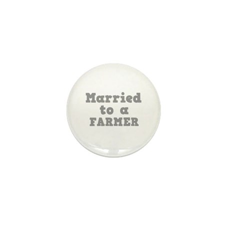 Married to a Farmer Mini Button (100 pack)