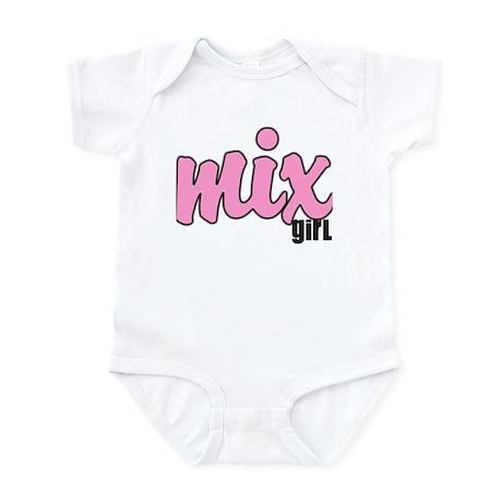 mix girl Infant Bodysuit