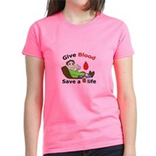 GIVE BLOOD SAVE LIFE T-Shirt