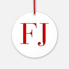 FJ-bod red2 Ornament (Round)