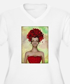 Crazy red hair morning Plus Size T-Shirt