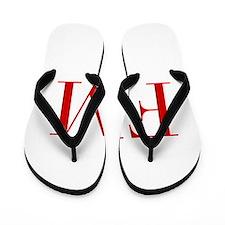 FM-bod red2 Flip Flops