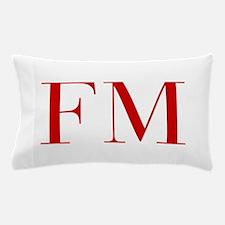 FM-bod red2 Pillow Case