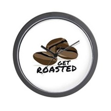 Get Roasted Wall Clock