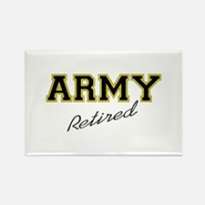 ARMY RETIRED Magnets