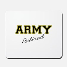 ARMY RETIRED Mousepad