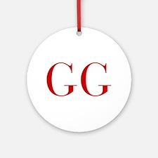 GG-bod red2 Ornament (Round)