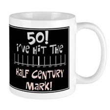 50th birthday graph Mug