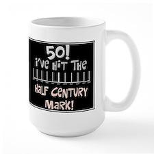 50th birthday graph Mug