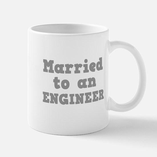 Married to an Engineer Mug