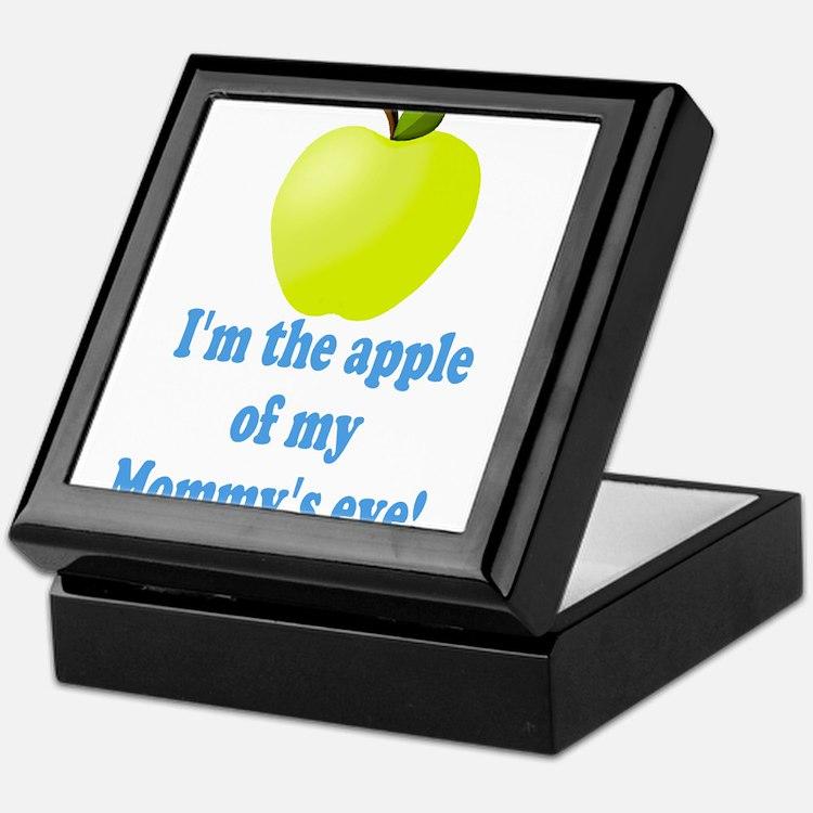 Apple of Mommys Eye Keepsake Box