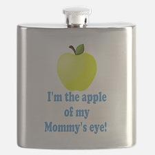 Apple of Mommys Eye Flask