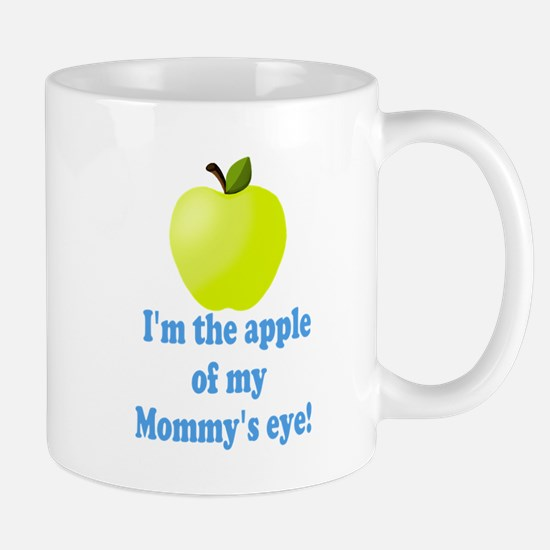 Apple of Mommys Eye Mugs