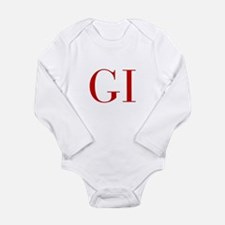GI-bod red2 Body Suit